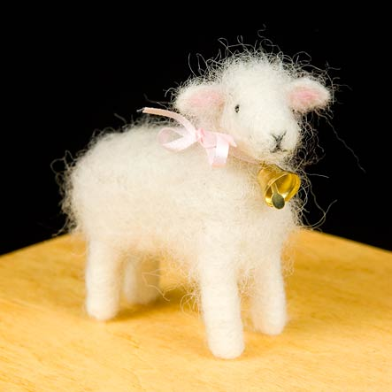 Woolpets Needle Felting Sheep