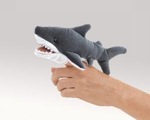 Folkmanis Finger Puppet Shark